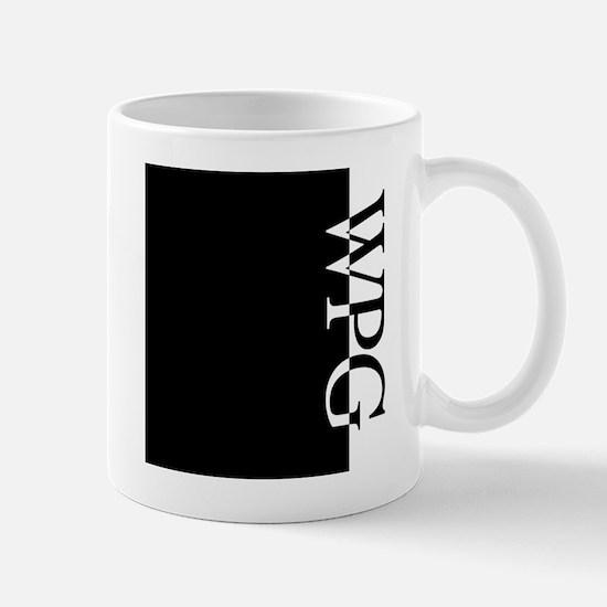 WPG Typography Mug