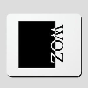 WOZ Typography Mousepad