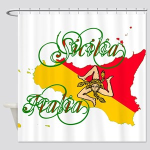 Sicilia Italia Shower Curtain