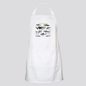 Sharks of the World Apron