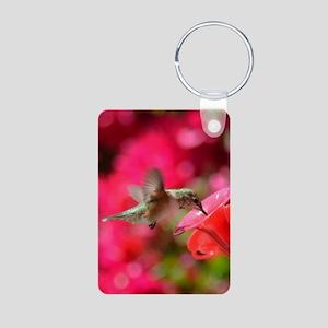 Hummingbird 3230 - Aluminum Photo Keychain