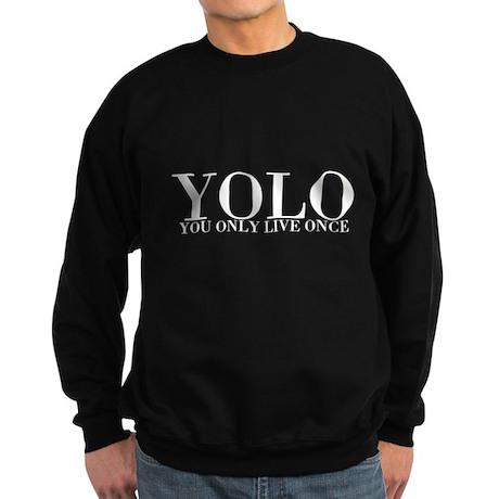 YOLO Sweatshirt (dark)