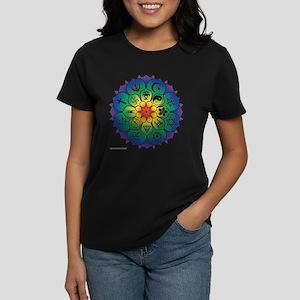 Religions Mandala Women's Dark T-Shirt