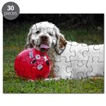 Clumber Spaniel Puzzle
