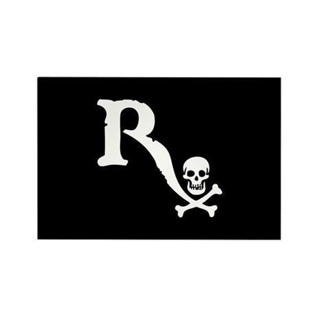 Drugstore Pirate II Rectangle Magnet