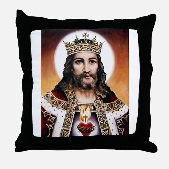 """Christ the King"" Throw Pillow"