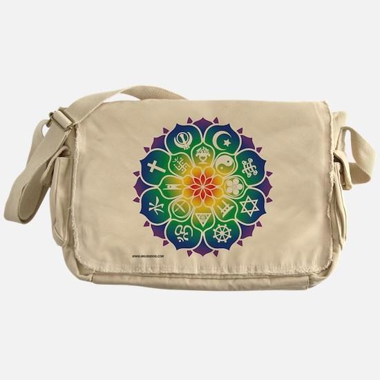 Religions Mandala Messenger Bag