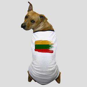 Lithuania Flag Dog T-Shirt