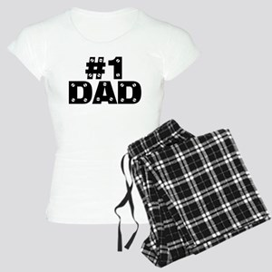 #1 Dad Women's Light Pajamas