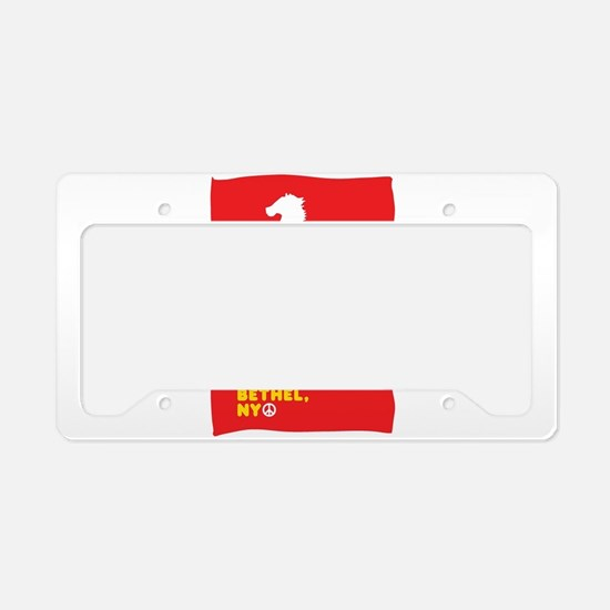 Cute Rolling License Plate Holder