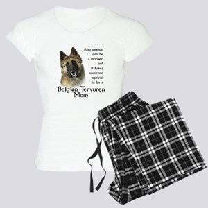 Belgian Tervuren Mom Women's Light Pajamas