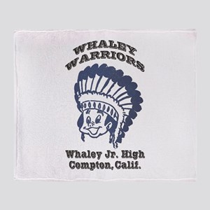 Whaley Warriors Throw Blanket