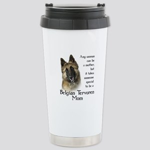 Belgian Tervuren Mom Stainless Steel Travel Mug