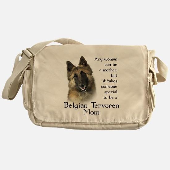 Belgian Tervuren Mom Messenger Bag