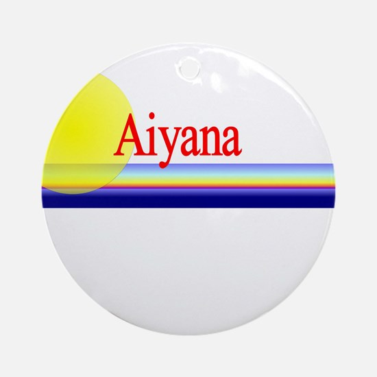 Aiyana Ornament (Round)