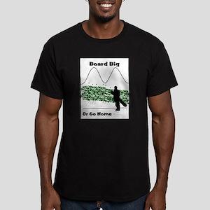 Board Men's Fitted T-Shirt (dark)