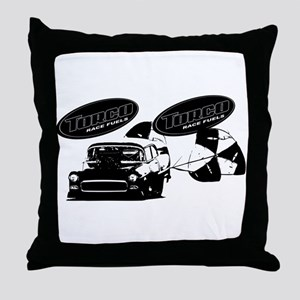 Torco Chevy Dragster Throw Pillow
