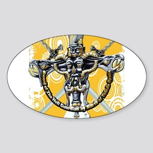 The Hell Guardian Sticker (Oval)