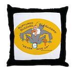 Yellow Logo Throw Pillow
