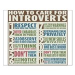 Care for Introverts Small Poster
