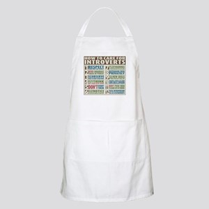 Care for Introverts Apron