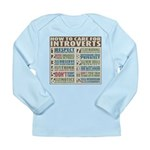 Care for Introverts Long Sleeve Infant T-Shirt