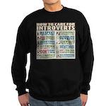 Care for Introverts Sweatshirt (dark)