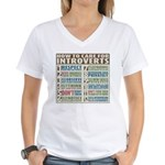 Care for Introverts Women's V-Neck T-Shirt
