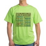 Care for Introverts Green T-Shirt