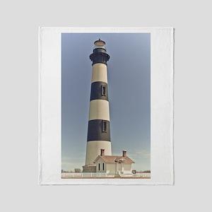 Bodie Island Lighthouse Throw Blanket
