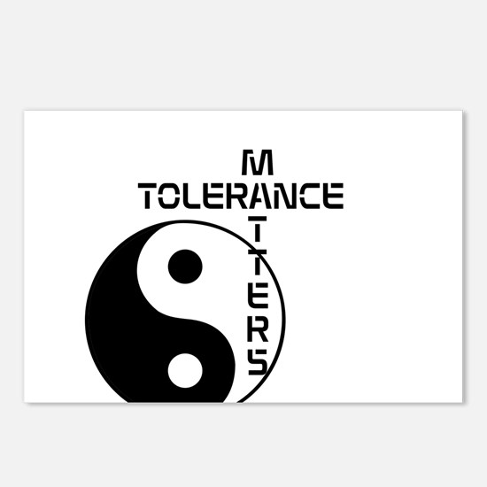 Tolerance Matters Postcards (Package of 8)