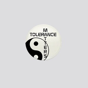 Tolerance Matters Mini Button