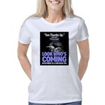 Look Whos Coming in Octobe Women's Classic T-Shirt