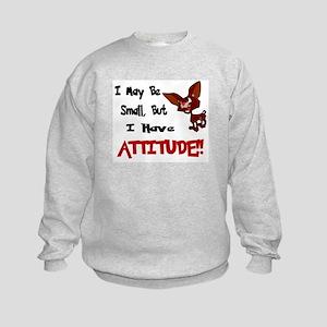 I May Be Small (Chihuahua) Kids Sweatshirt