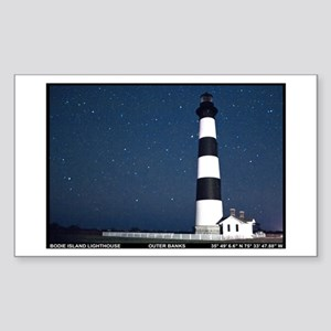 Bodie Island Lighthouse. Sticker (Rectangle)
