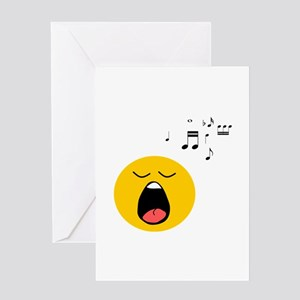 Singing Smiley Greeting Card