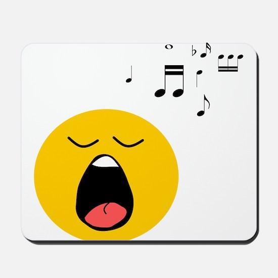 Singing Smiley Mousepad