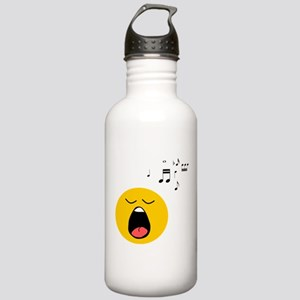 Singing Smiley Stainless Water Bottle 1.0L