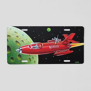 X-30 SPACE ROCKET Aluminum License Plate