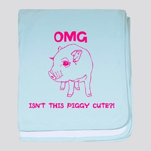 Cute Piggy baby blanket