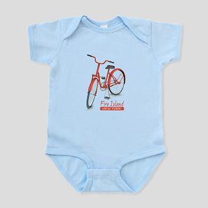 Red Bike Fire Island Infant Bodysuit