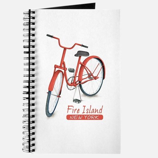 Red Bike Fire Island Journal