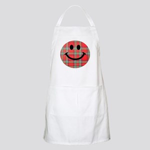 Scottish Tartan Smiley Apron