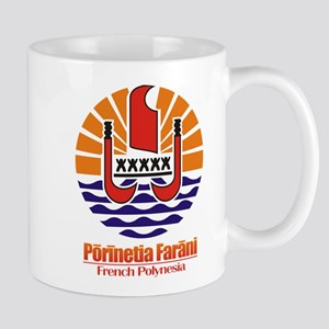 """French Polynesia COA"" Mug"