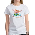 'Girl Swimming' Women's T-Shirt