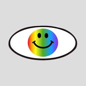 Rainbow Smiley Patches