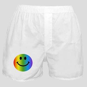 Rainbow Smiley Boxer Shorts