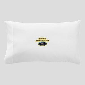Wyoming Highway Patrol Pillow Case