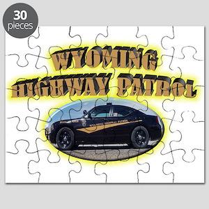 Wyoming Highway Patrol Puzzle