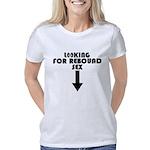 2-T-Shirt - Black Letterin Women's Classic T-Shirt